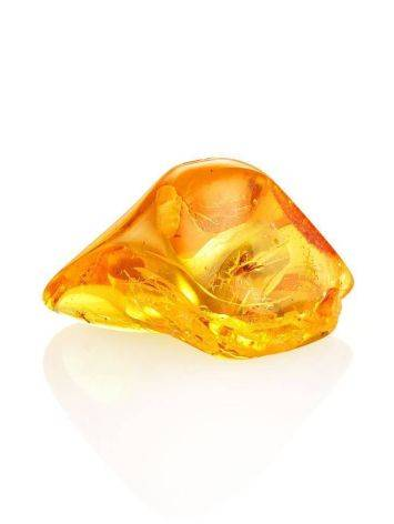 Luminous Amber Stone With Spider Inclusion, image , picture 6
