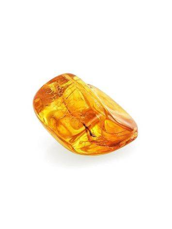 Natural Amber Stone With Midge Inclusion, image , picture 3