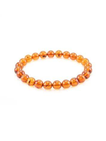 Simple Amber Elastic Bracelet, image