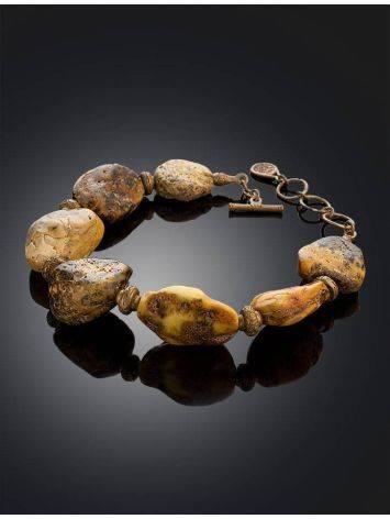 Raw Amber Designer Bracelet The Indonesia, image , picture 2