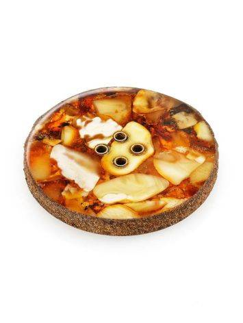 Handmade Decorative Amber Button The Indonesia, image , picture 3