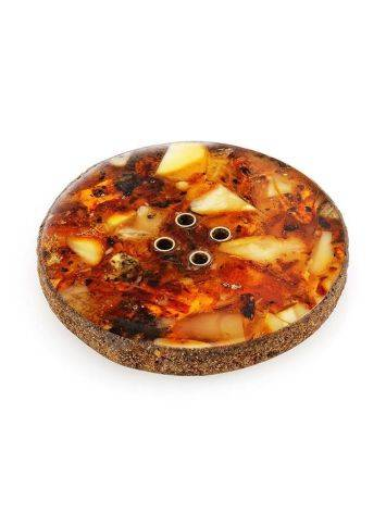 Handmade Decorative Amber Button The Indonesia, image , picture 4