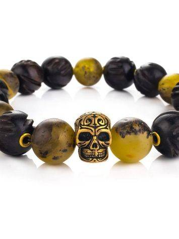 Amber And Wood Bracelet The Cuba, image , picture 2