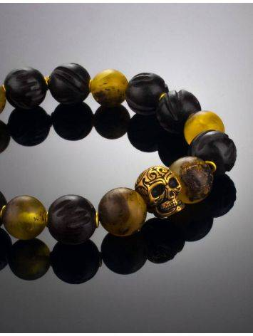 Amber And Wood Bracelet The Cuba, image , picture 3