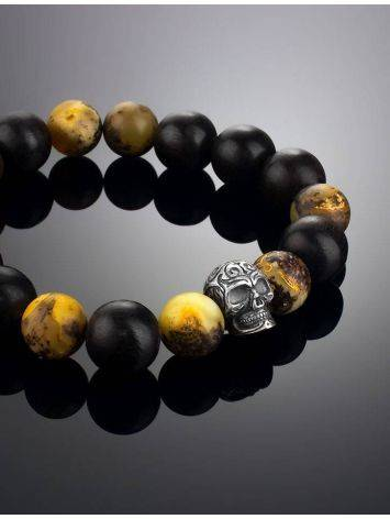 Black Amber Bracelet With Natural Amber The Cuba, image , picture 2