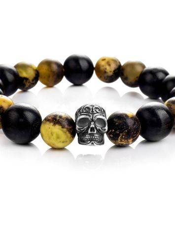 Black Amber Bracelet With Natural Amber The Cuba, image , picture 3