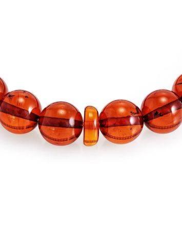 Orthodox 33 Cognac Amber Prayer Beads, image , picture 4