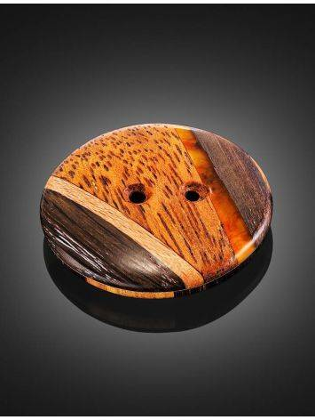 Decorative Amber Button With Wood The Indonesia, image , picture 4