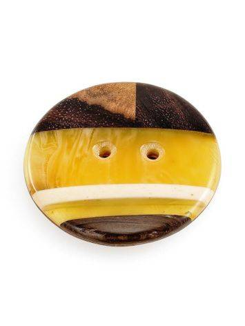 Decorative Amber Button With Wood The Indonesia, image , picture 5