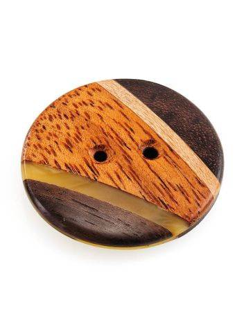 Decorative Amber Button With Wood The Indonesia, image , picture 7