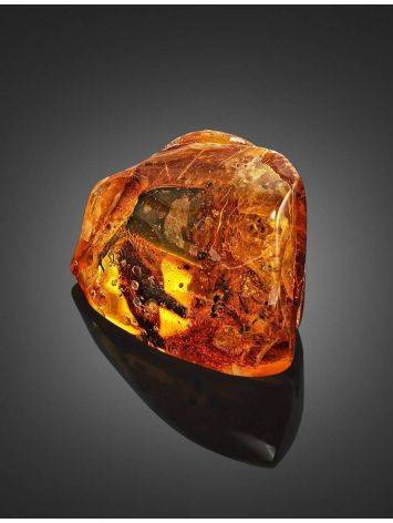 Natural Textured Amber Stone With Ant Inclusion, image , picture 3