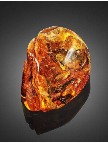 Natural Textured Amber Stone With Ant Inclusion, image , picture 4