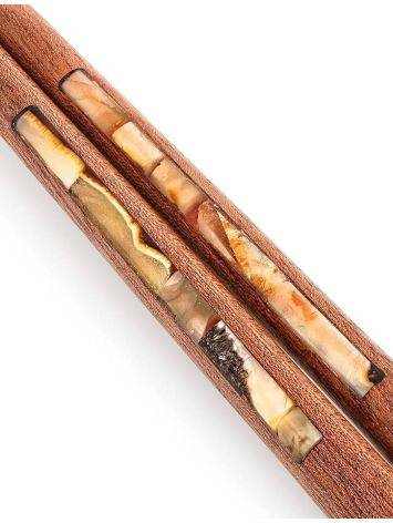 Wooden Chopsticks With Honey Amber, image , picture 3