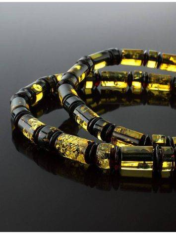 Multicolor Amber Beaded Necklace The Prague, image , picture 2