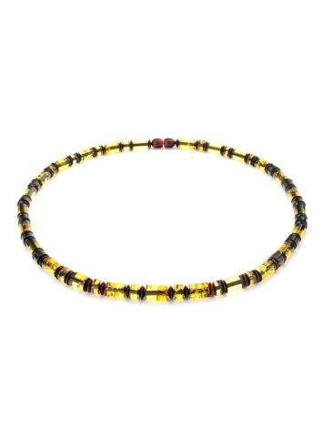 Multicolor Amber Beaded Necklace The Prague, image , picture 5