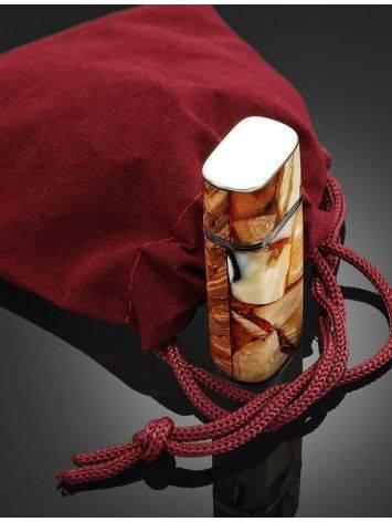 16 Gb Flash Drive With Karelian Birch And Baltic Amber The Indonesia, image , picture 6