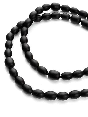 Olive Cut Black Amber Rosary The Cuba, image , picture 6