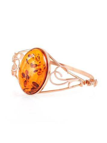 Handmade Amber Bracelet In Gold Plated Silver The Rialto, image , picture 3