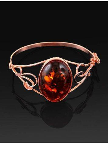 Handmade Amber Bracelet In Gold Plated Silver The Rialto, image , picture 2