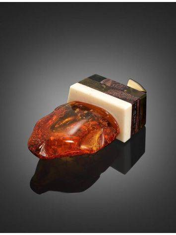 Wooden Pendant With Amber And Mammoth Tusk The Indonesia, image , picture 2