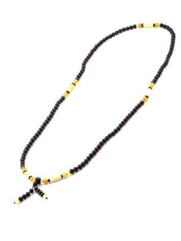 Multicolor Amber Buddhist Prayer Beads The Cuba, image , picture 4