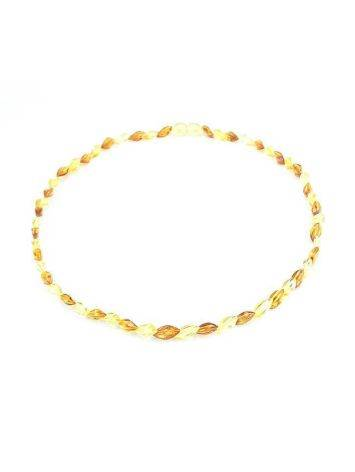 Stylish Multicolor Amber Necklace, image , picture 3