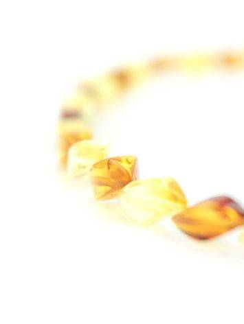 Stylish Multicolor Amber Necklace, image , picture 4