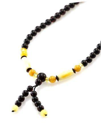Multicolor Amber Buddhist Prayer Beads The Cuba, image , picture 3