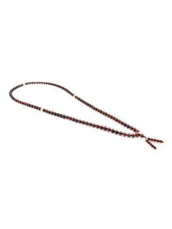 Cherry Amber Buddhist Prayer Beads, image , picture 4