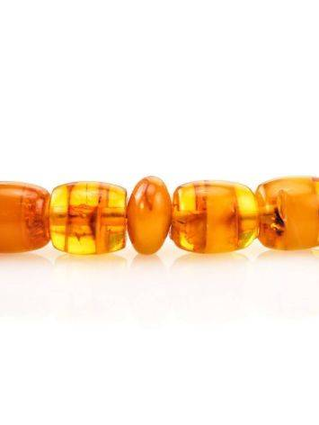 33 Multicolor Amber Islamic Prayer Beads With Tassel, image , picture 4