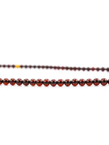 Cherry Amber Buddhist Prayer Beads, image , picture 7