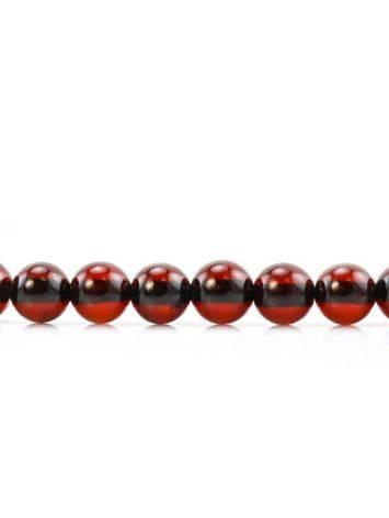 Cherry Amber Buddhist Prayer Beads, image , picture 9