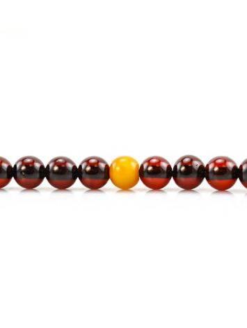 Cherry Amber Buddhist Prayer Beads, image , picture 8