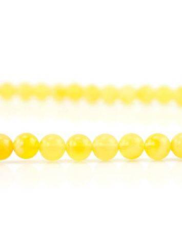 Butterscotch Amber Buddhist Prayer Beads, image , picture 4