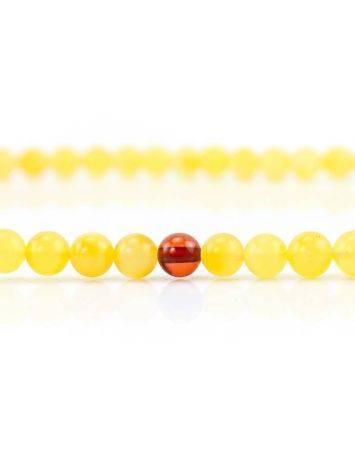 Butterscotch Amber Buddhist Prayer Beads, image , picture 5