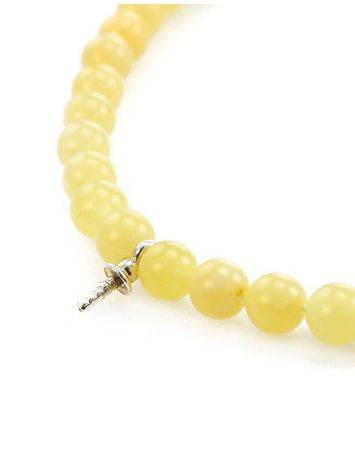 Amber Beaded Necklace With Bail, image , picture 2