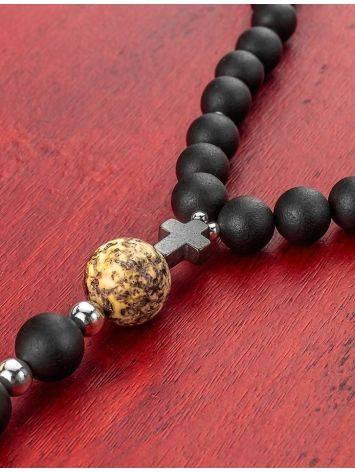Black Amber Mala Beads The Cuba, image , picture 4