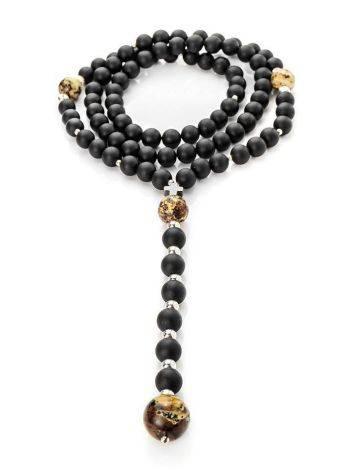Black Amber Mala Beads The Cuba, image , picture 3