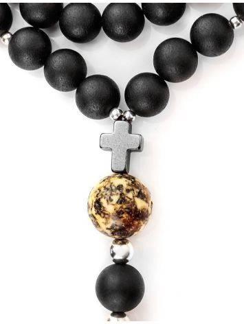 Black Amber Mala Beads The Cuba, image , picture 7