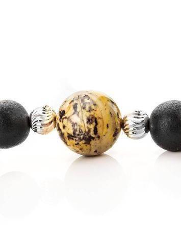 Black Amber Mala Beads The Cuba, image , picture 8