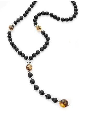 Black Amber Mala Beads The Cuba, image , picture 9