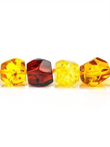 Faceted Amber Beaded Necklace, image , picture 4