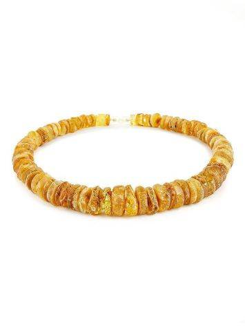 Raw Amber Beaded Necklace, image , picture 3