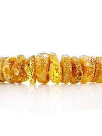 Raw Amber Beaded Necklace, image , picture 4
