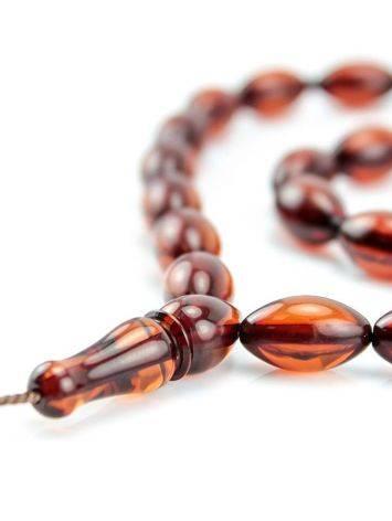 33 Cherry Amber Islamic Prayer Beads, image