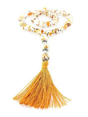 33 Amber Islamic Prayer Beads The Dalmatian, image