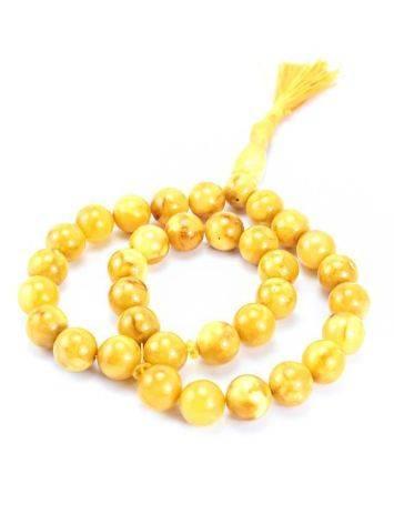 Honey Amber Muslim Prayer Beads With Tassel, image