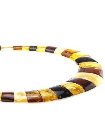 Multicolor Amber Necklace The Egypt, image , picture 2