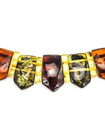 Multicolor Amber Necklace The Cleopatra, image , picture 4