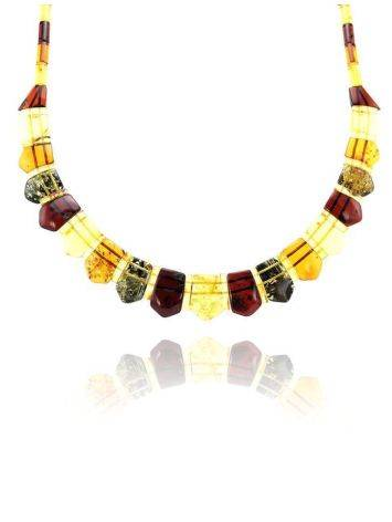 Multicolor Amber Necklace The Cleopatra, image , picture 2